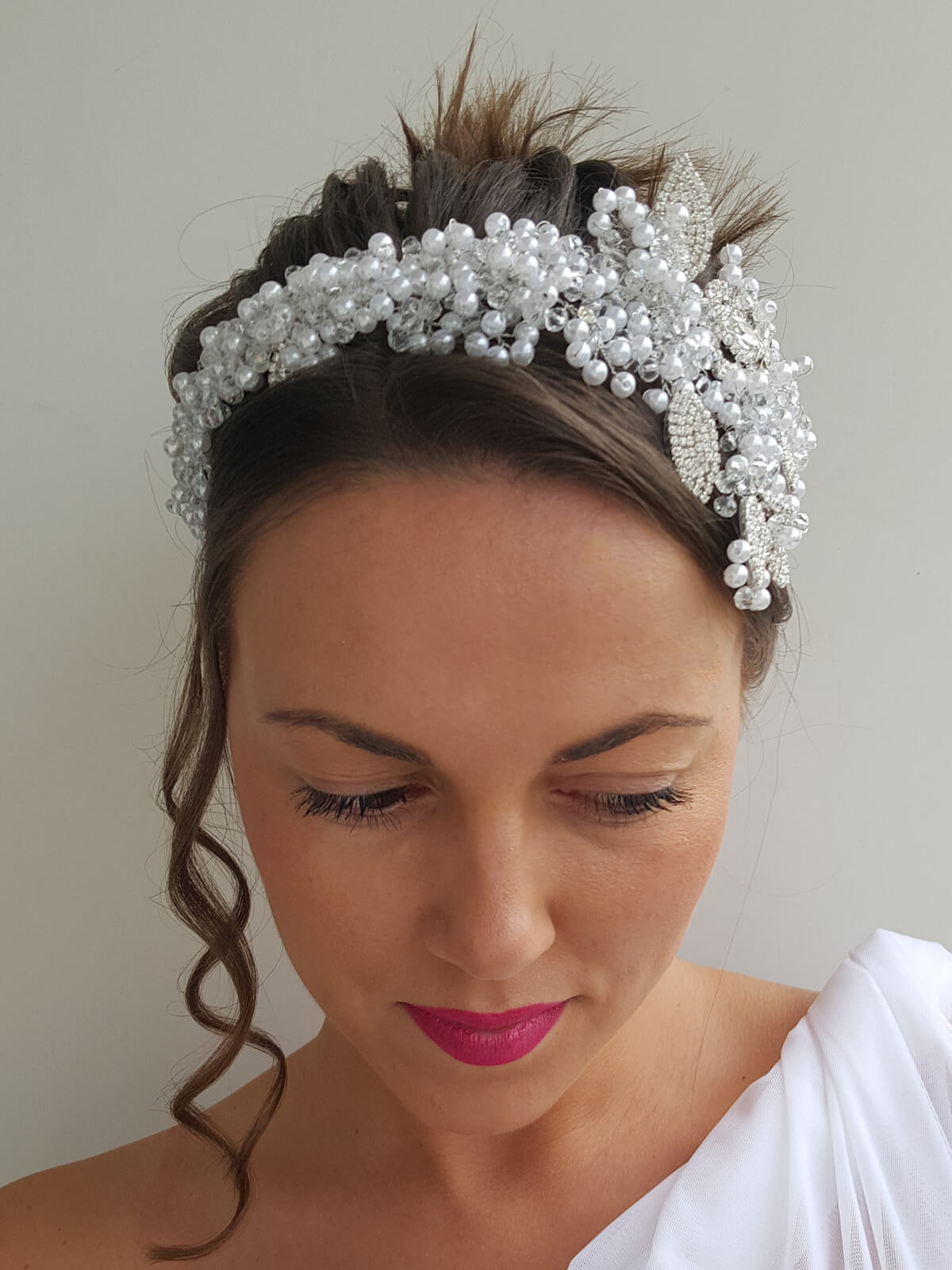 Hairband Wedding 138a