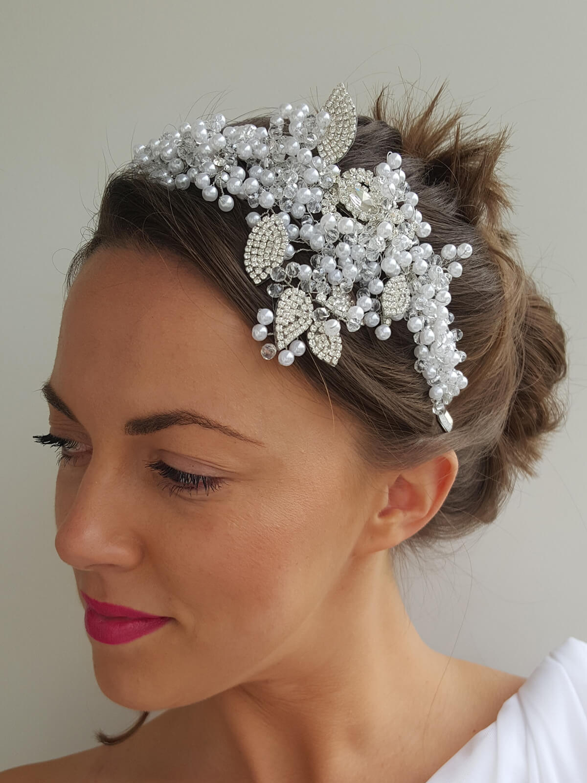 Hairband Wedding 138b