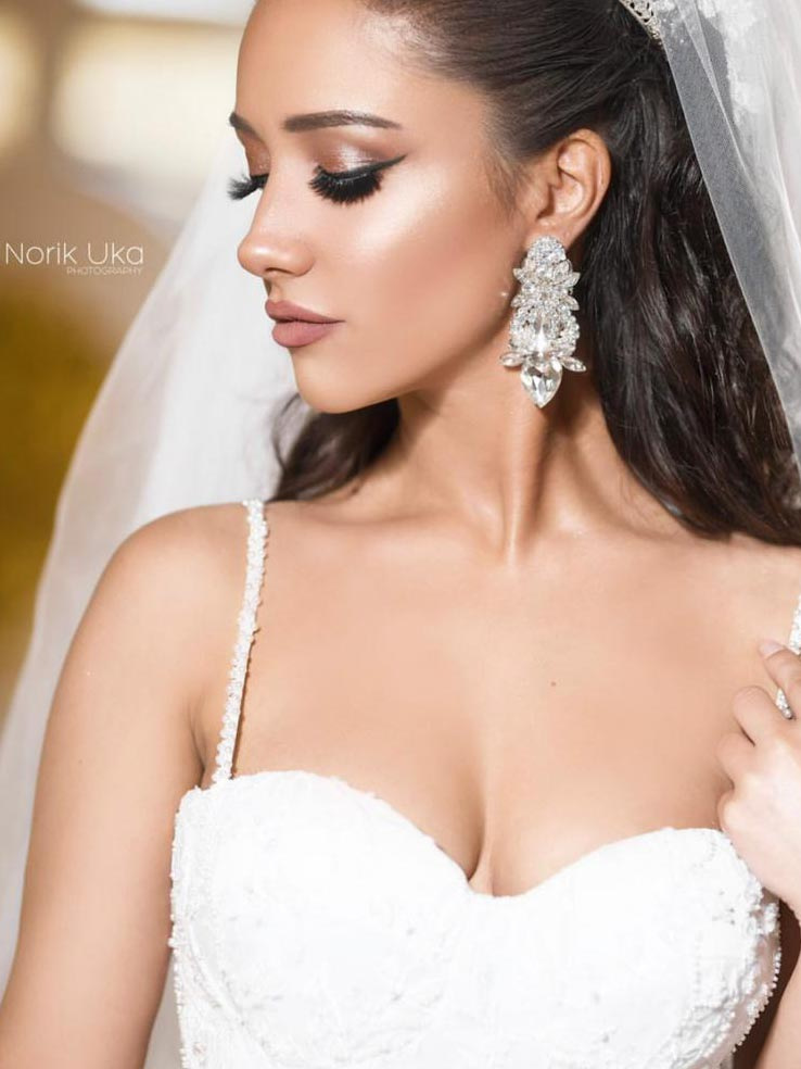 Earrings Wedding 219b