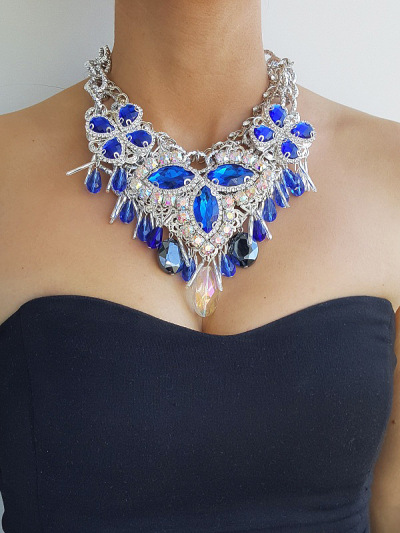 Necklace Crystal 16