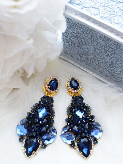 Crystal Earrings 246