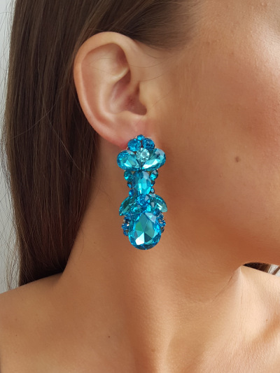 Crystal Earrings 254