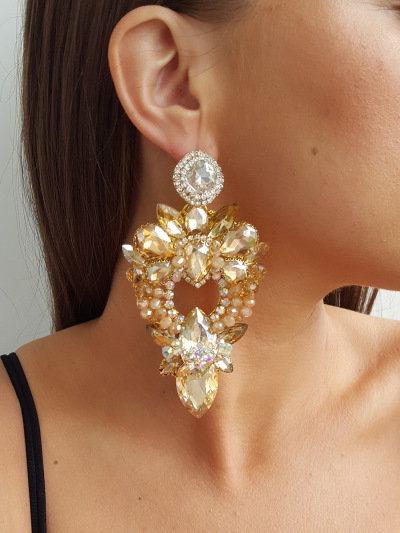 Crystal Earrings 263