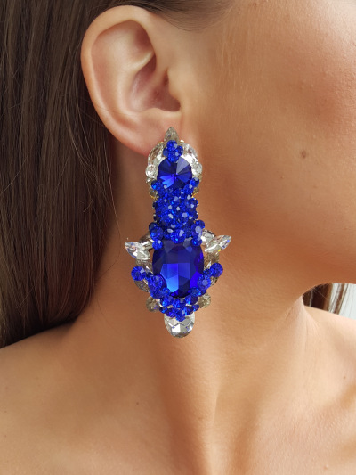 Crystal Earrings 268