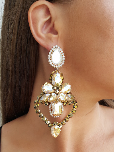 Crystal Earrings 304