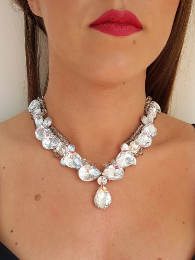 Crystal Necklace 044