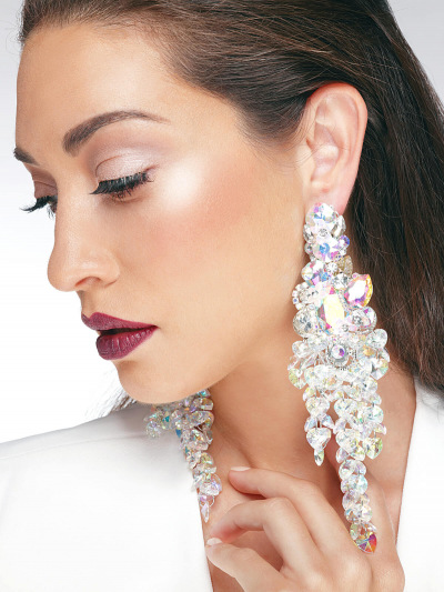Crystal Earrings 356