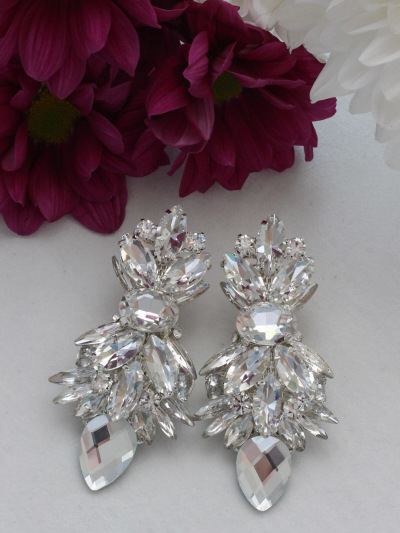 Crystal Earrings 376