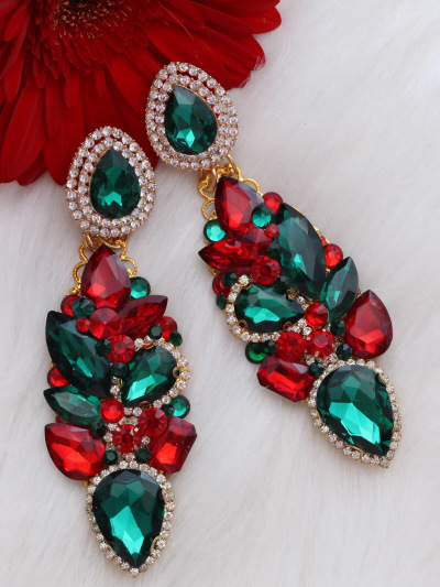 Crystal Earrings 384