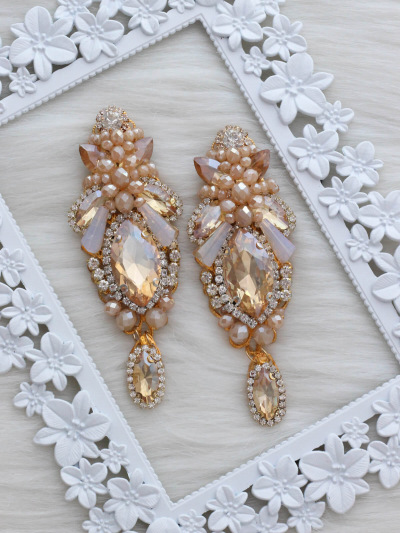 Crystal Earrings 389