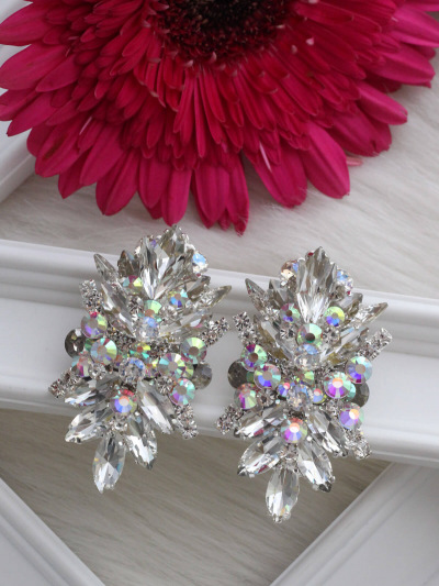 Crystal Earrings 415