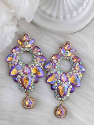 Crystal Earrings 421