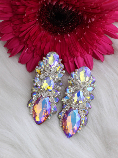 Crystal Earrings 423