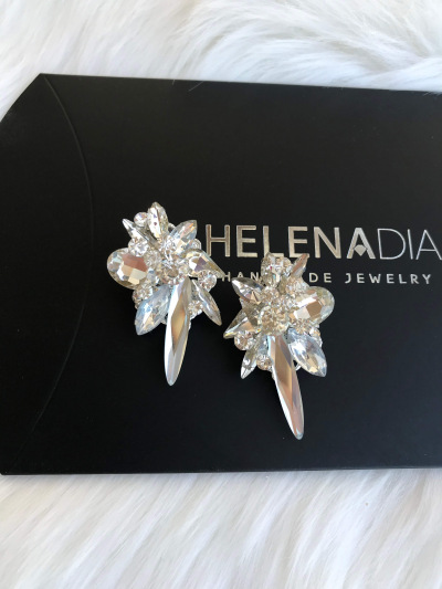 Crystal Earrings 444