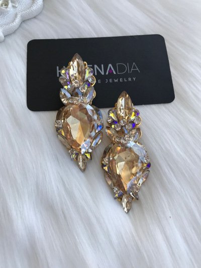 Crystal Earrings 457