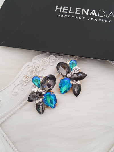 Crystal Earrings 465a