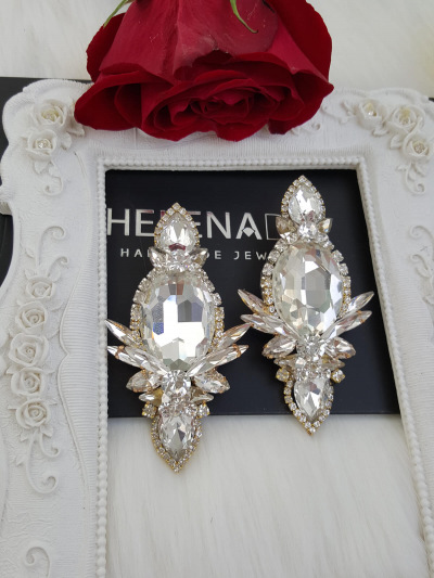 Crystal Earrings 516