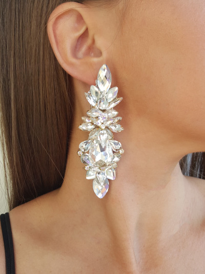 Crystal Earrings 543