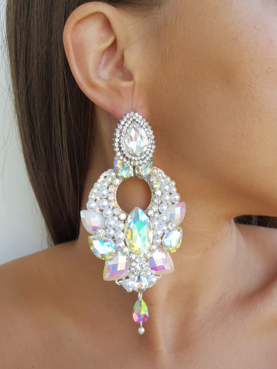 Crystal Earrings 554
