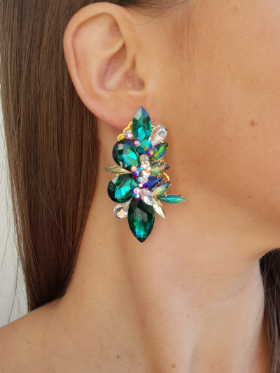 Crystal Earrings 604