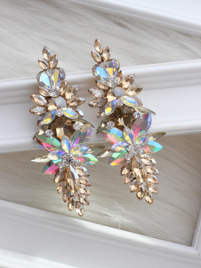 Crystal Earrings 628