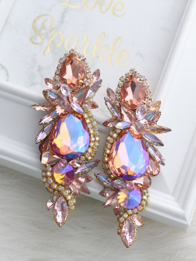 Crystal Earrings 660