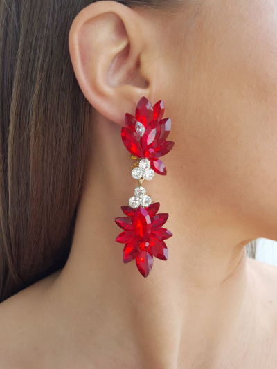 Crystal Earrings 715