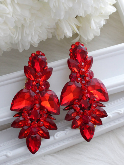 Crystal Earrings 744