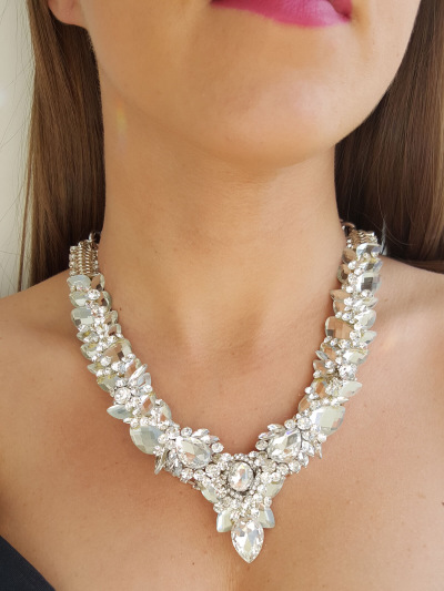 Crystal Necklace 105