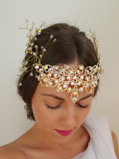 Hairband Wedding 115